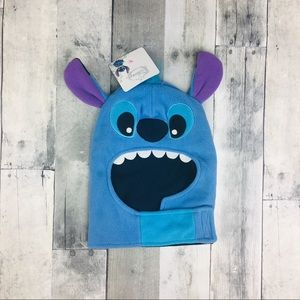NWT Disney Stitch Winter Hat with Ears One Size